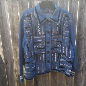 Animal/Jean jacket